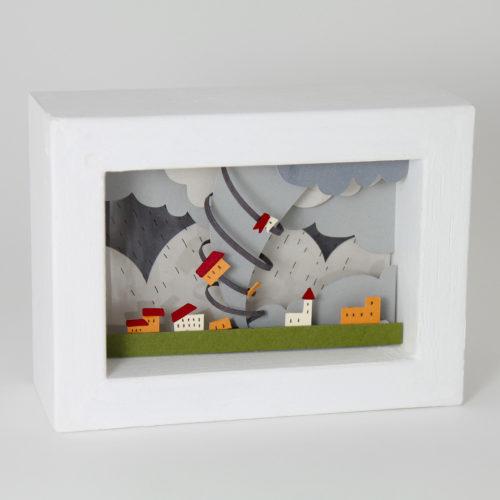 papercut bomboland papercraft cutout paper