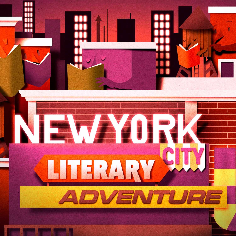 Papercut illustration. New York City. Paperart. City landscsape. Editorial illustration. City by night.